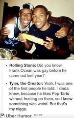 Well put Tyler, the Creator! (4577246c1e1b7b419e88cca8ab7d2749) Tags: fun funny time native top lol humor waste stupidity uber stuppid
