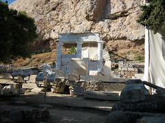 122 - Rebuilding a temple (Scott Shetrone) Tags: events places athens greece acropolis 5th anniversaries