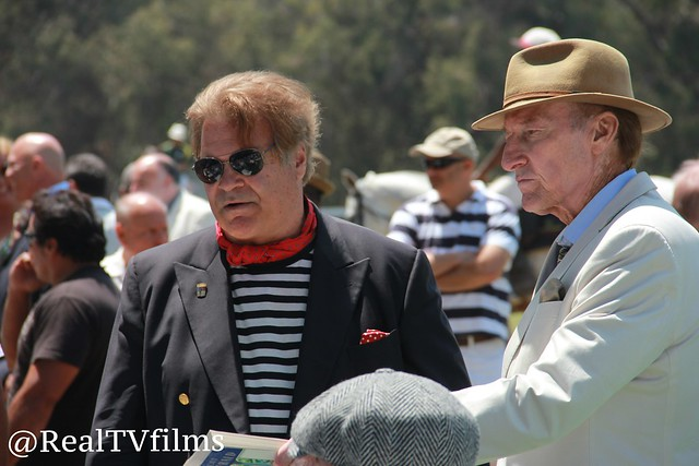 Ed Lozzi, Ed Lauter, Celebrity Cup Polo Match for Charity