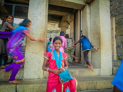 Perfect Pose (rufusruffin) Tags: people india playing kids children culture hassan belur