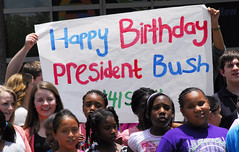 20130612_LPGB_JJ_020 (Bush 41 Library) Tags: georgebush happybirthday collegestation texasam tamu presidentiallibraryandmuseum bushbirthday 41s89th
