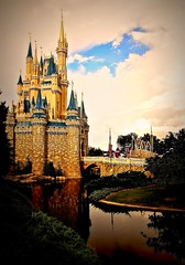 Fantasy (matthewbramirez) Tags: world castle vintage mouse orlando florida magic kingdom disney mickey fairy fantasy dreams imagine walt tale creativy cinderallas