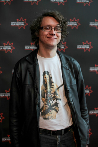 Christopher Huber at the Shorts Film Jury photocall