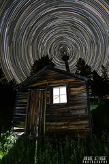 The Long Trail (Awake at Night) Tags: longexposure lightpainting abandoned blackhills ngc lp ghosttown wyoming rancher strobe startrails bunkhouse clearskies cattleranch canon5dmarkiii tokina1628mm awakeatnightphotography