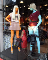 H&M Store Mannequins Window Display, Midtown Manhattan, New York City (jag9889) Tags: city nyc ny newyork window fashion store mannequins display manhattan midtown borough hm department 5avenue 42street 2013 jag9889