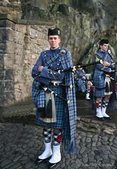 Citadel Piper, Charleston (FotoFling Scotland) Tags: music male festival tattoo soldier army scotland edinburgh kilt edinburghcastle display military scottish event esplanade piper bagpipes iconic tartan pipeband royaledinburghmilitarytattoo