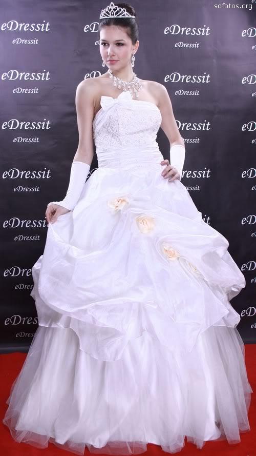 Vestido de noiva de luxo