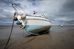 """Sue on the Shore"" (Another Angle) (Ray Mcbride Photography) Tags: boats seascapes beaches fishingboats merseyside northwestengland beacheslandscapes meolsestuary"