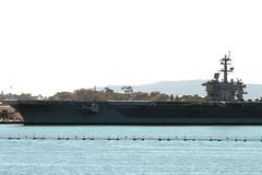 ( CVN 70 ) USS Carl Vinson (Prayitno / Thank you for (9 millions +) views) Tags: california ca harbor us san air united navy nuclear diego carl states uss carrier vinson kapal carlvinson induk konomark