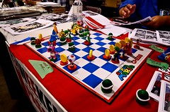 FanExpo 2013 (MorboKat) Tags: toronto game nerd comic geek nintendo chess mario convention vendor boardgame comiccon comicconvention fanexpo fanexpocanada