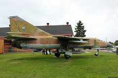 4857 Mig-23ML Czech Republic Air Force (Guillaume Carré) Tags: canada republic force czech air musée des forces bagotville cfb aériennes 4857 mig23ml