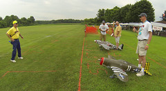 Warbirds Over Delaware 2013 (Scott Alan McClurg) Tags: radio airplane army model fighter control aviation military wwii navy airshow event ww2 remote marines lightning airforce bomber rc trainer worldwartwo wod aricraft funfly warbirdsoverdelaware