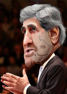 From flickr.com/photos/47422005@N04/9691550311/: John Kerry - Saving Face