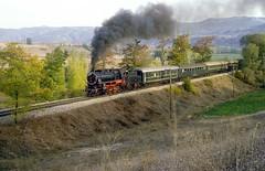 45038  bei Grceli  20.10.83 (w. + h. brutzer) Tags: analog train turkey nikon eisenbahn railway zug trains steam trkei dampflok lokomotive eisenbahnen tcdd dampfloks webru grceli