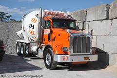 Ferrara Bros Truck 120 (RyanP77) Tags: nyc college brooklyn truck point concrete cement mixer peterbilt kenworth freightliner ferrarabros
