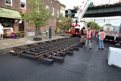 IMG_3835 (MTAPhotos) Tags: subway queens elevated newyorkcitytransit trackwork weekendwork a weekendatwork