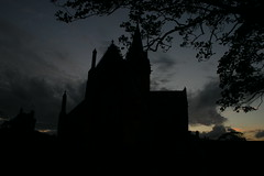 St Magnus Cathedral (Owen H R) Tags: black silhouette st night orkney cathedral spooky magnus kirkwall owenhr