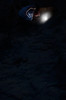 strange (Elise Weber) Tags: door blue light orange art alex sarah night kyle dark glow elise earth surreal dirt ann conceptual thompson trap weber stoddard loreth