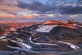 View from Mt. Sodull, Hrafntinnusker, Iceland