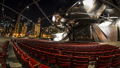 The Night Before the Show (olsonj) Tags: city chicago skyline night concert pritzkerpavilion