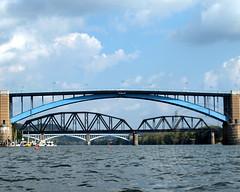 Thirty-First Street Bridge (Main Channel) over the Allegheny River, Pittsburgh, Pennsylvania (jag9889) Tags: bridge river pittsburgh crossing pennsylvania pa kayaking 1928 paddling waterway roadway alleghenyriver 31ststreet washingtonslanding herrsisland alleghenycounty 31ststreetbridge 2013 mainchannel jag9889 k883 williamraymondprommemorialbridge