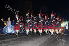 City of Exeter Pipe and Drums. (David James Clelford Photography) Tags: band bagpipes kilts bridgwatercarnivalprocession2013 cityofexeterpipeanddrums