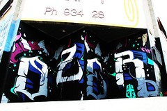 OZER (SPEAR1X) Tags: street art graffiti graf socal hollywood spraypaint msk ozer