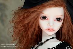 DIM Lalia Twin #1 Painted by Robbin Atwell (Robbin With 2 Bs) Tags: love twins bjd resin dim modification abjd lalia balljointeddoll dollinmind madwifeintheattic robbinatwell
