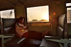Night train Udon Thani Bangkok, Thailand