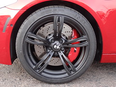 Powder Coated BMW M5 Wheels