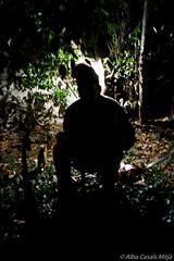 El Caganer (alba1988) Tags: salt girona silueta nadal pati caganer contrallum pessebre desembre 2013 barratina pessebrevivent pastoret canmut municipidesalt