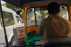 Meter On ... @ Bangalore (harshithjv) Tags: street india travelling canon photography traffic taxi bangalore streetphotography kitlens transit rickshaw autorickshaw indianstreet onmove 600d bengaluru canon600d