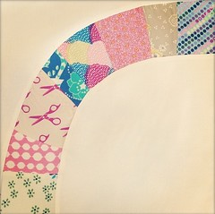 The start of my single girl quilt (hipsterquilter) Tags: singlegirlquilt iphoneography