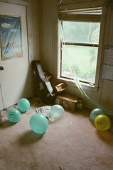 25590023 (danielbenmoyal) Tags: party film window drunk 35mm balloons grain canonae1
