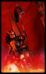 NECA Predator - Wasp Predator (Ed Speir IV) Tags: fiction red film monster movie insect dead toy actionfigure photography big wasp action head alien science staff fantasy figure dio scifi end hunter sciencefiction predator clan creature diorama deadend spear bigred neca xenomorph toyphotography yautja wasppredator biomask