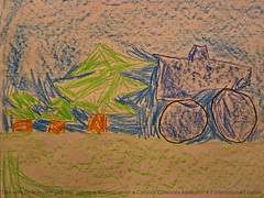 Hill climb racing computer game - drawing by my 5 yo son (cod_gabriel) Tags: trees game forest computer drawing stage son dessin fir dibujo filho computergame fiu tegning desenho disegno coniferous hijo hillclimb firs fils zeichnung tekening sohn figlio  teckning rysunek rajz piirustus coniferousforest   desen menggambar  superdiesel   hillclimbracing hillclimbracingcomputergame stageforest superdiesel4x4 fingersoft
