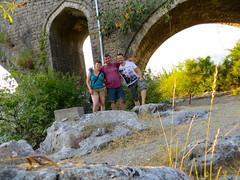 Met Florian bij Mesi brug