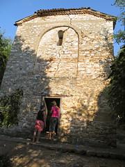 Kerkje op het eiland