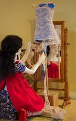 Lace dress for the girls (Xiaoli2004) Tags: bjd dollstown 13yo merrymegdoll