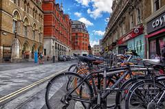 Liverpool Street. July 2013 (Smo_Q) Tags: street trip london londres londra ロンドン londyn 伦敦 런던 лондон bicykles pentaxk5