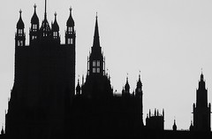 Parliament (@WineAlchemy1) Tags: london parliament westminster democracy thames21 thames thamespathwalk thamespath silhouette