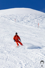 I Am Not Here For The Trash (Prozac74) Tags: winter orange snow schweiz switzerland skiing bluesky powder snowboard schwyz fullsize stoos morschach canonef70200mmf4lisusm canoneos5dmarkii