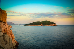 IMG_5615.jpg (jcwolfe00) Tags: ocean blue sunset sea water beautiful island coast rocks colorful view rocky croatia dubrovnik adriatic