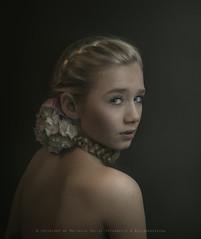 Nina (Matthijs Smilde) Tags: flowers portrait matthijs model grace series smilde alwaysexcellent absolutegoldenmasterpiece