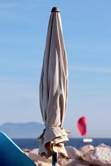 Call me the breeze... (modestino68) Tags: sea umbrella barca mare ship ericclapton ombrello jjcale