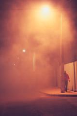 --- (Mateus Andr) Tags: light man luz night person 50mm pessoa nikon smoke noite homem fumaa d5000