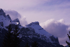 Mountains (Thacia Stirling Photography) Tags: sunset sun mountain canada mountains nature clouds sunrise rockies scenery rocky alberta banff canmore mtns