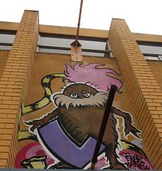 Fitzroy Lorax Mural (wiredforlego) Tags: streetart graffiti mural au fitzroy australia melbourne mel urbanart