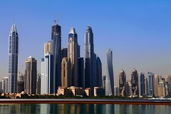 """A Skyline Like No Other"" --  Dubai, UAE (TravelsWithDan) Tags: city urban dubai cityscape skyscrapers ngc uae unitedarabemirates worldtrekker andthisdoesntevencountthebiggestone"