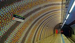 Szent Gellért tér   Metro Budapest (Philip Klug) Tags: hungary metro budapest ubahn ungarn bunt gellert ter colourfull tér szent